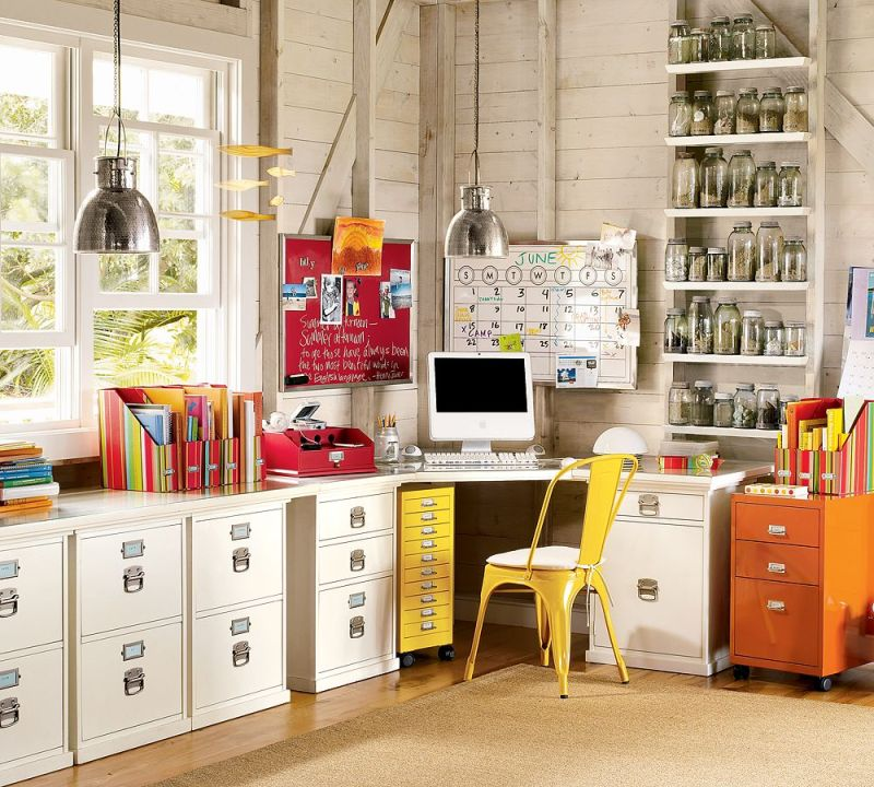 home office design quirky