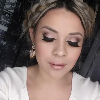 Karol Zambrano makeupcitypop Rose Gold IG