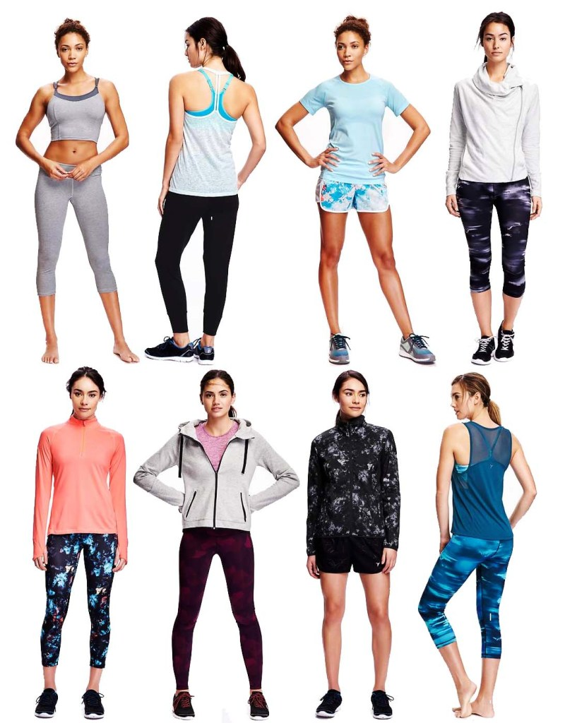 Old Navy Active Workout Outfits