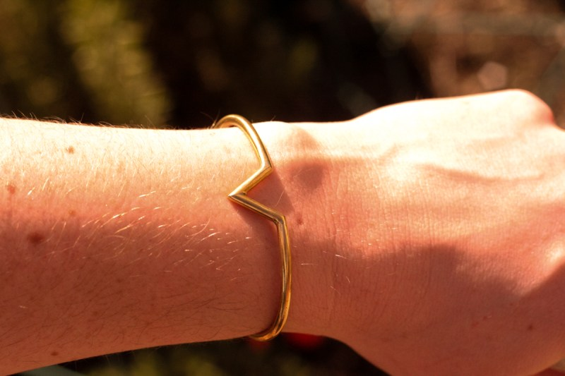 People x Pencils of Promise Brass Cuff