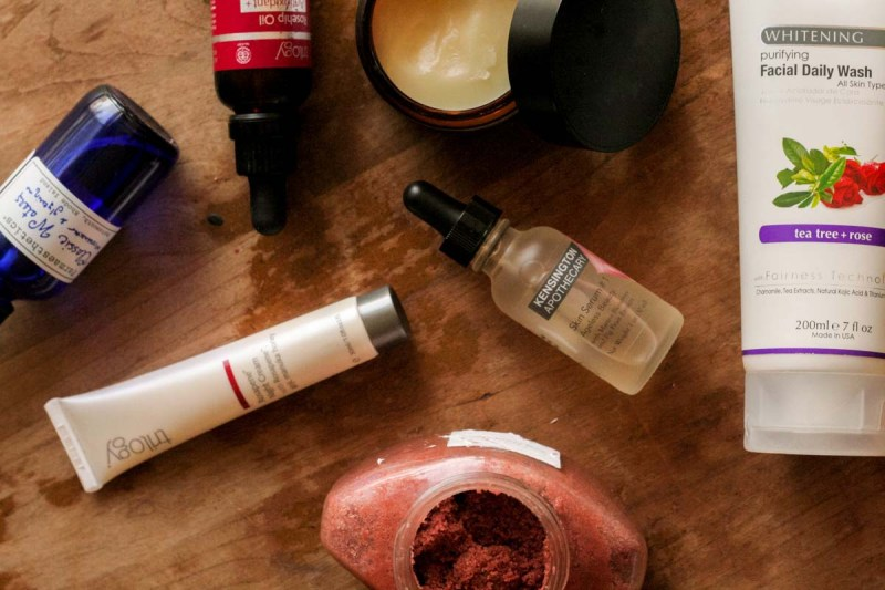 serums facial skincare cleansers rose scrubs rosehip oils