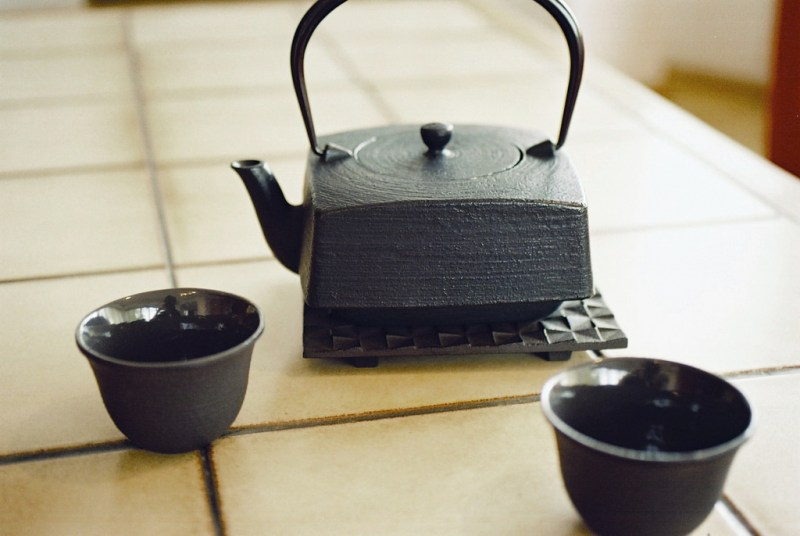 Cast Iron Teapot by Javier Kohen