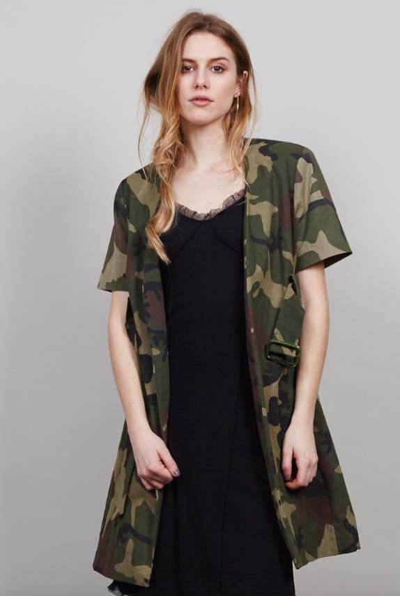 Camo is Back Jacket