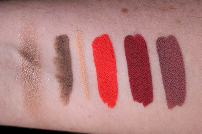Colourpop Review Swatches