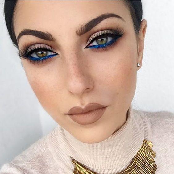 Amber Dean Cobalt Blue Makeup NYX
