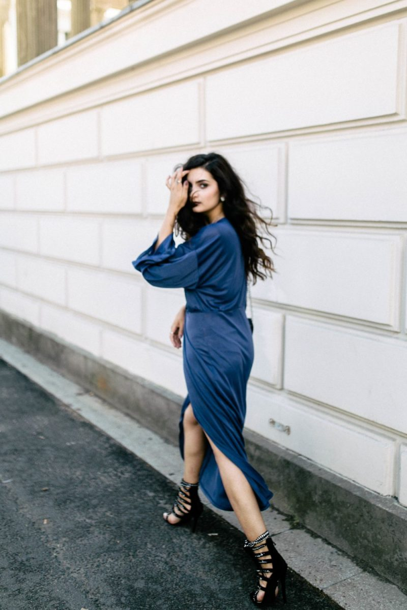 Merna Mariella Cobalt Blue Dress Fashion Inspiration