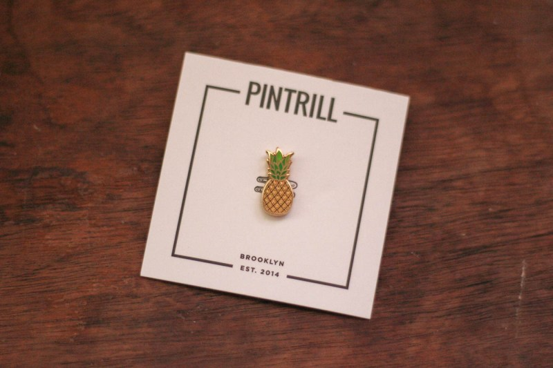 Pintrill Pineapple Pin