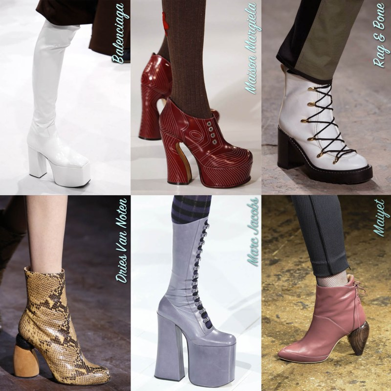 boots heels fall boot trends winter 2016 designer accessories get the look