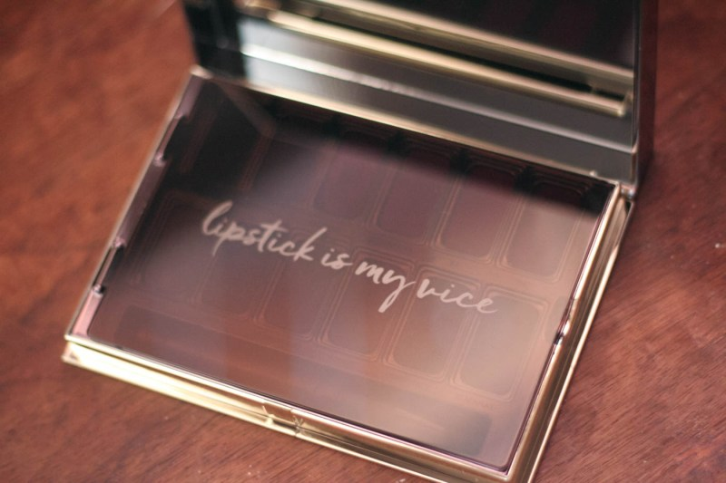 Urban Decay Blackmail Vice Lipstick Palette Review & Swatches