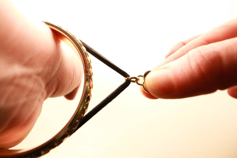 hair band hidden hair tie elastic bracelet