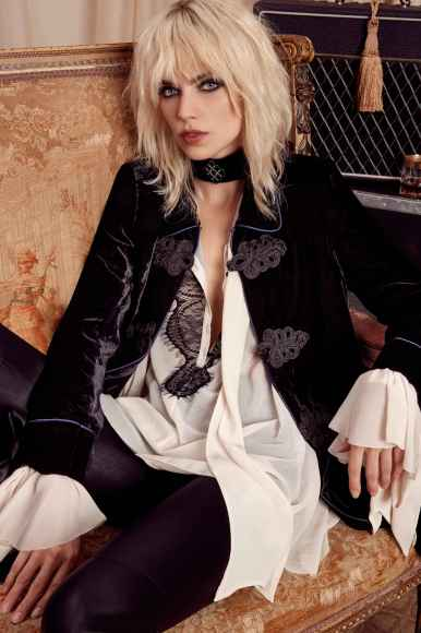 Courtney Love x NastyGal - 90s Velvet Edwardian Jacket
