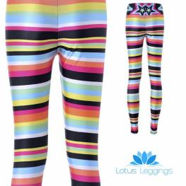 Candy Stripe Leggings, $8.99 (reg. $49.99)