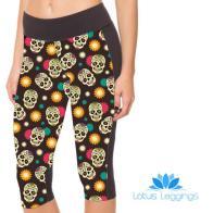 Colorful Floral Skulls Leggings, $8.99 (reg. $49.99)