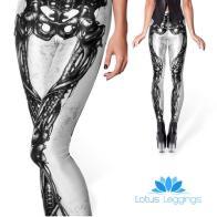 Skeleton Print Leggings, $9.99 (reg. $49.99)