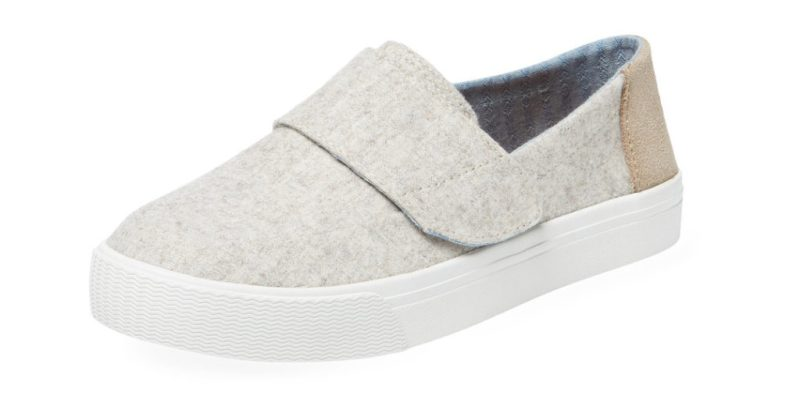 TOMS Altair Felt Suede Slip On Sneakers at GILT