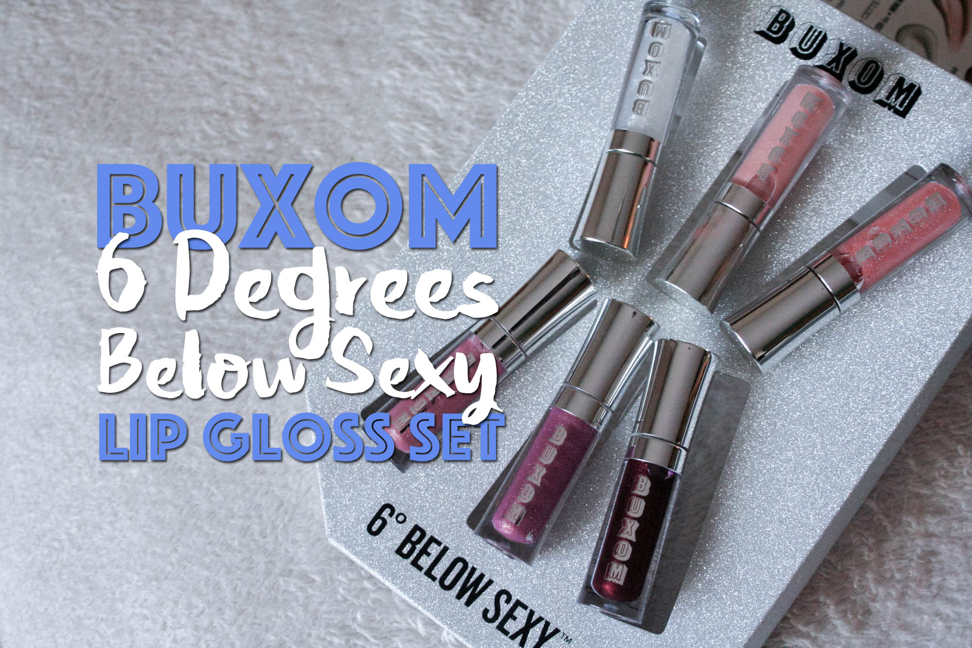 6 degrees below sexy mini full on lip polish collection
