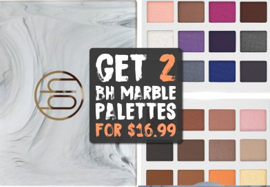 Today Only: 2 BH Marble Eyeshadow Palettes for $17