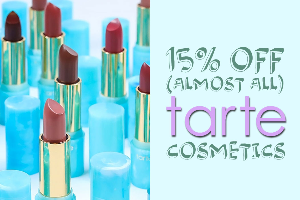 Take 15% Off (Almost) All Tarte Cosmetics