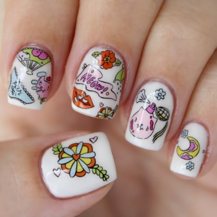 Nail Pop Nail Self-Love Decals in Sensuous Spring