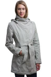 Mia Melon Grey Everglades Belted Jacket