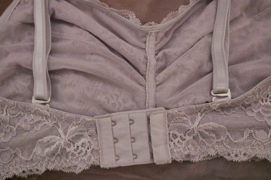 Montelle Intimates Lace Bralette - Feather Grey