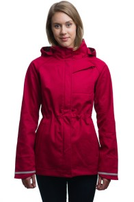 Mia Melon Commuter Red Jacket