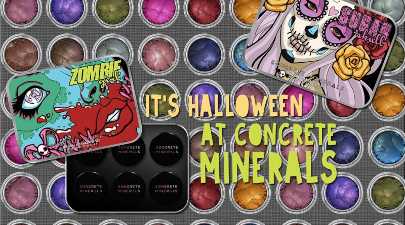 Indie Beauty: It's Halloween at Concrete Minerals