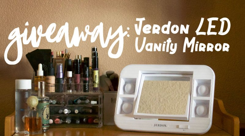 Could This Be the Perfect Vanity Mirror? (3 Winner Jerdon Giveaway)