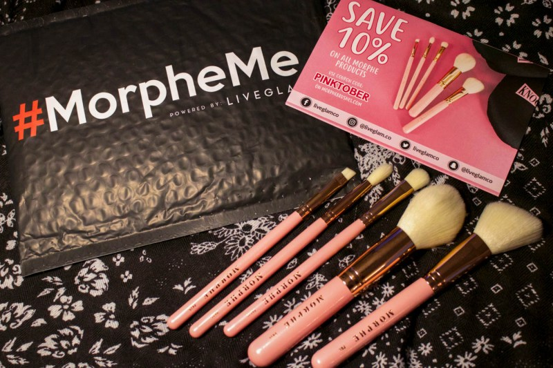 subscription box morphe makeup brushes