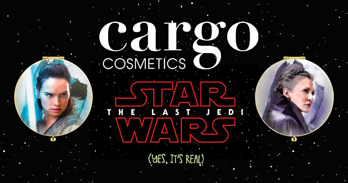 The Force is Strong with Cargo Cosmetics' Star Wars Beauty Collection