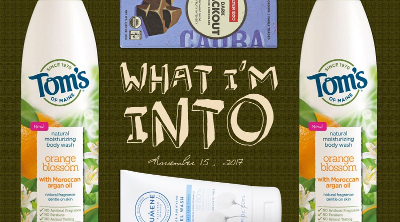 What I'm Into | November 15, 2017