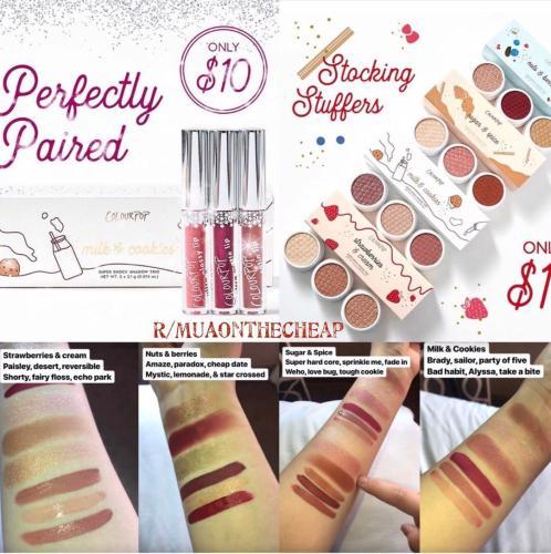 Colourpop: Stocking Stuffers for $10