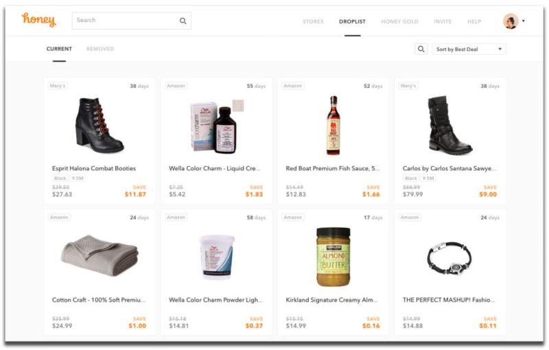 How to Use Honey's Droplist & Price Tracker Tools • Broke
