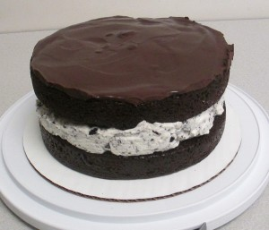 Chocolate Covered Oreo Cake
