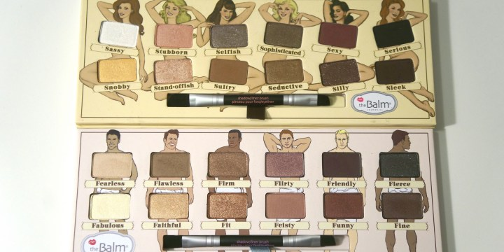 theBalm Nude 'Tude and Nude Dude Palettes