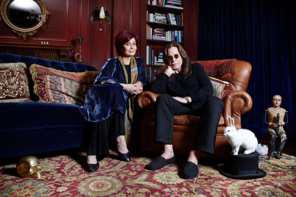 Sharon and Ozzy Osbourne are taking part IMAGE: RICHARD ANSETT. CHANNEL 4 IMAGES MUST NOT BE ALTERED OR MANIPULATED IN ANY WAY.