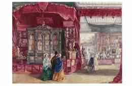 The Great Exhibition of 1851; Crystal Palace, Hyde Park; Watercolour