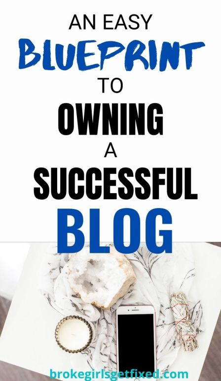 Owning and creating a successful blog does not happen overnight. You need to be guided towards success. Hence, here is an easy blueprint to starting a successful blog.