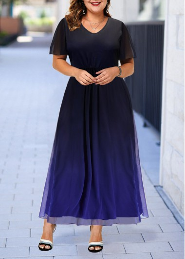 plus size gown for women