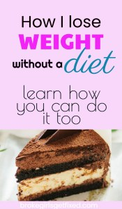 how I lose weight