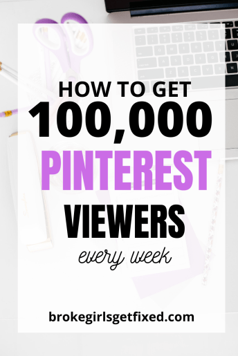 pinterest strategies to thousands of Pinterest views weekly