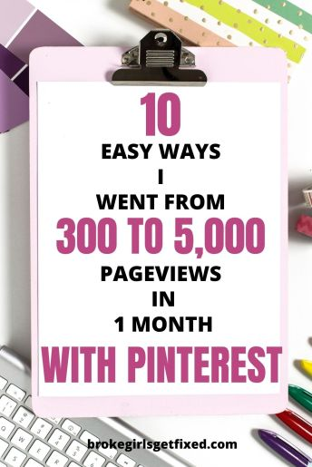 10 ways to get free traffic from Pinterest