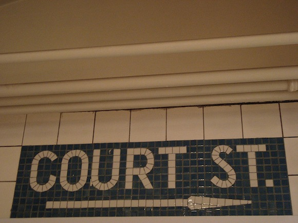 vintage subway tiles