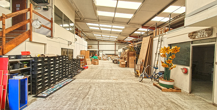 New warehouse inside