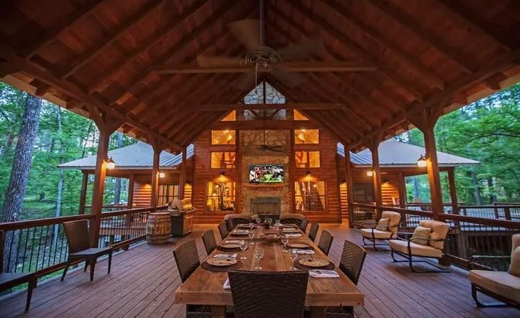Broken Bow Lake Cabin Rentals 187 Copper Spa Lodge
