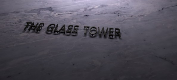 The Glass Tower sign