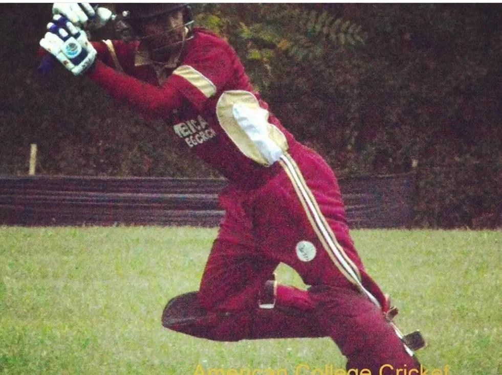 Photo of Avinash playing the flick