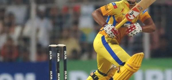 Photo of Suresh Raina Batting