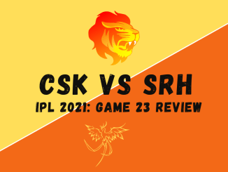 CSK Vs SRH Graphic