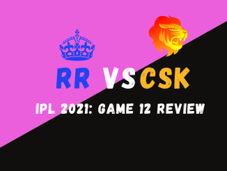 CSK Vs RR Graphic